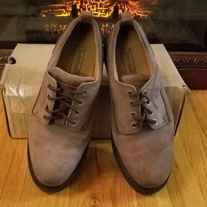 Timberland leather shoes, brown size 10M